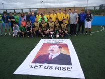 The James Connolly Cup. Won by Granton Star. June 2012