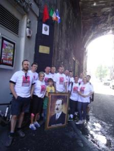 Connolly Cycle Challenge for charity. June 2012