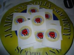 JCS Greeting cards being sent to political prisoners with your help.