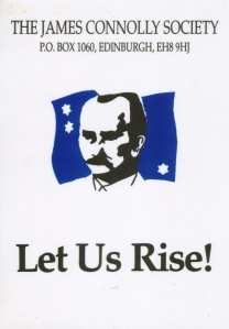 Original logo of the James Connolly Society.